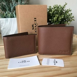 Coach wallet men🎈🎈